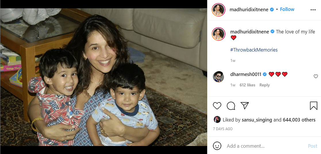 Madhuri 'Jacques Cousteau' Dixit: Dr Shriram Nene Shares a Throwback Pic From US