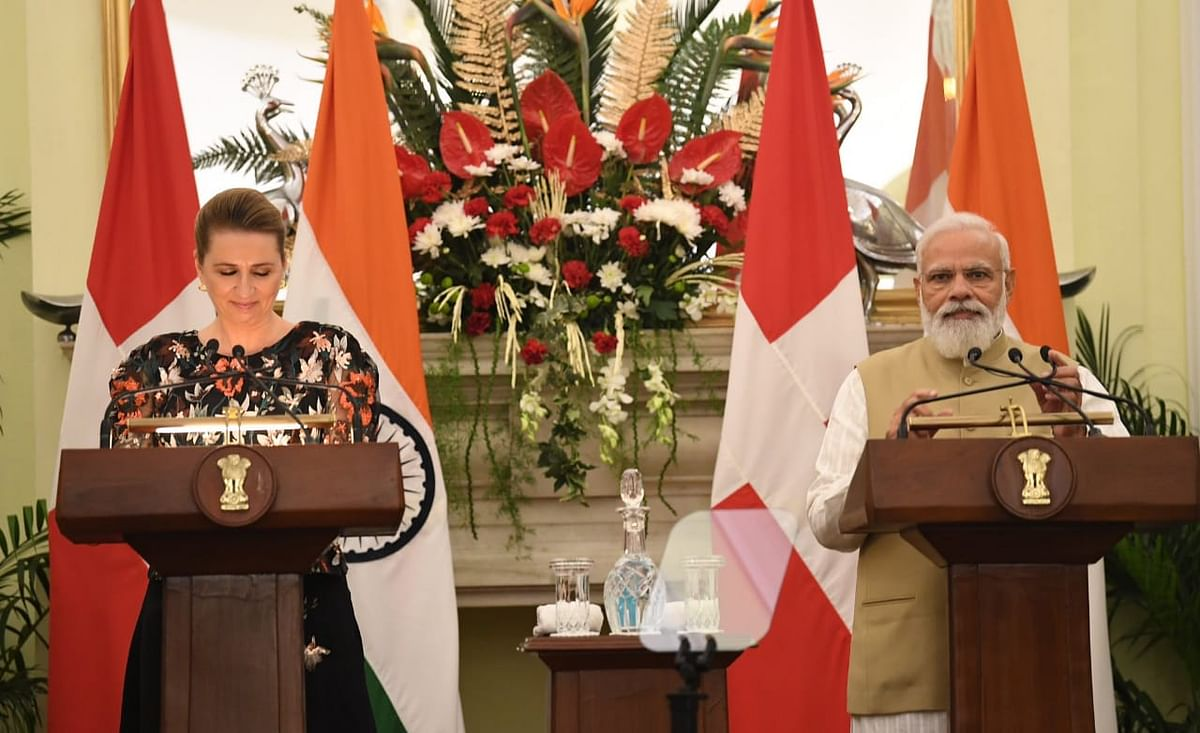 India and Denmark Expand Ties as Danish PM Mette Frederikson Visits India