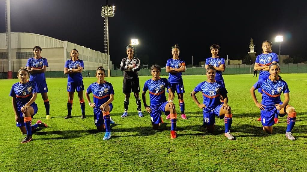 """<div class=""""paragraphs""""><p>The Indian women's football team have won 1 and lost 1 so far in their two games.&nbsp;</p></div>"""