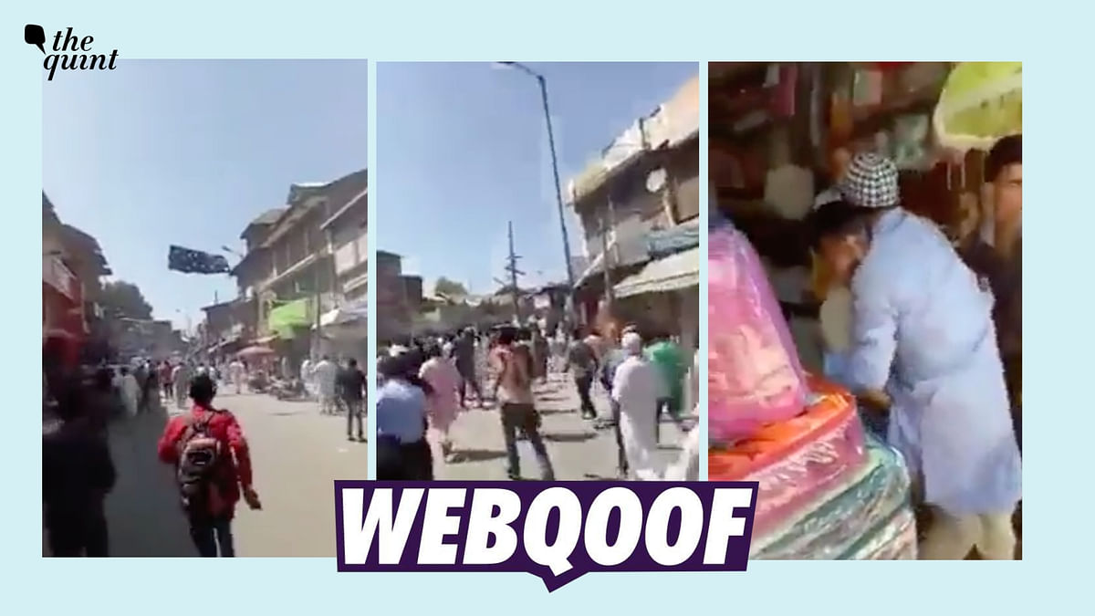 """<div class=""""paragraphs""""><p>The video is from Jammu and Kashmir and not Jaipur, as claimed.&nbsp;</p></div>"""