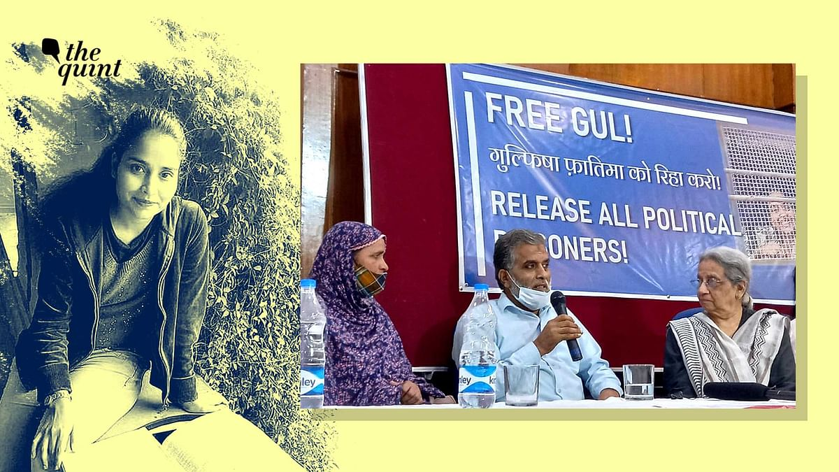 """<div class=""""paragraphs""""><p>Gulfisha has been granted bail in all cases but FIR 59, where UAPA has been invoked.</p></div>"""