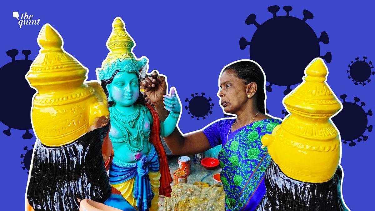 Navratri Brings Hope For Tamil Nadu's Golu Doll Makers Struggling to Survive