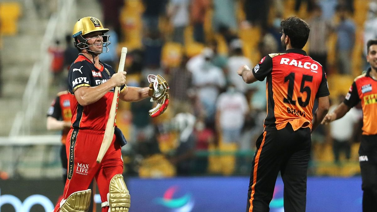 IPL 2021: SRH Clinch Win Against RCB After Bhuvi's Dramatic Final Over