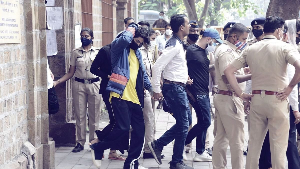 """<div class=""""paragraphs""""><p>Aryan Khan was arrested by the NCB during a raid on a Goa-bound cruise ship.</p></div>"""