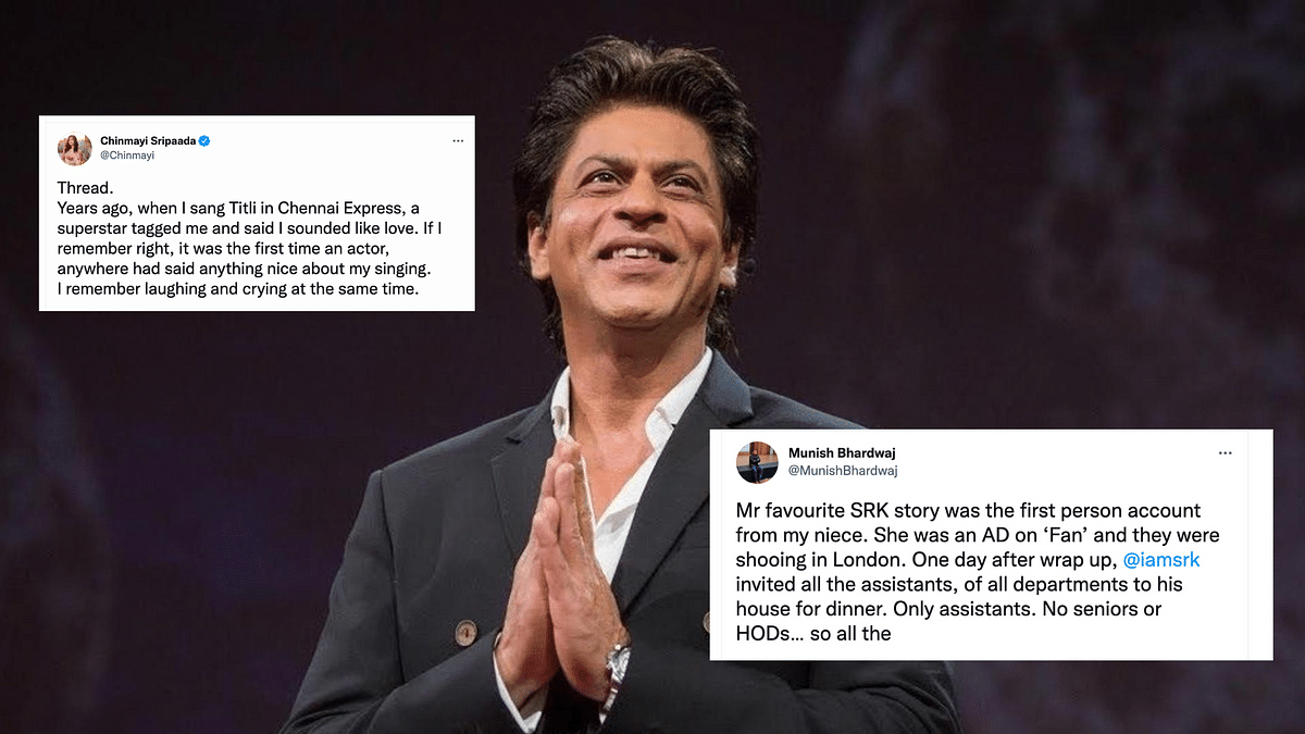 'He Did NOT Have to Be That Nice': Twitter Floods With Heartwarming SRK Stories