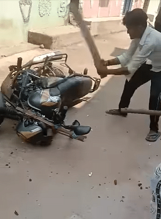 """<div class=""""paragraphs""""><p>The motorbike as visible in the right section of the report.</p></div>"""