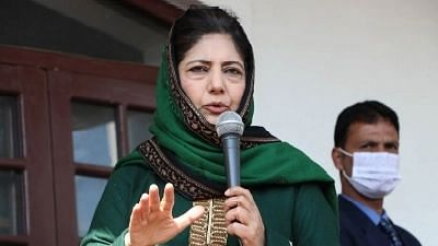 Because Aryan's Surname is Khan: Mehbooba Mufti Calls Out NCB, BJP