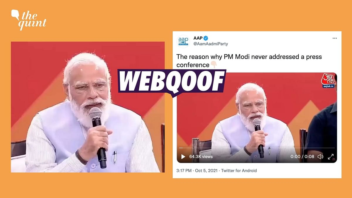 Clipped Video of PM Modi's Chat With a Beneficiary of Awas Yojana Lacks Context