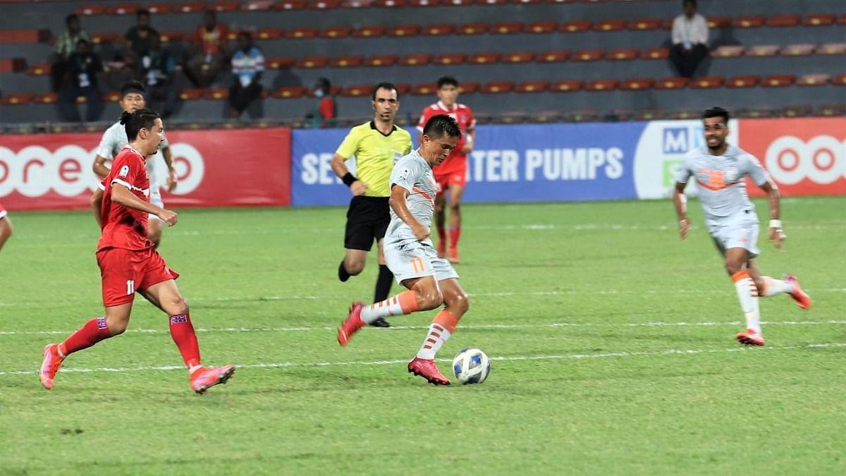 SAFF Championship: Sunil Chhetri Scores as India Edge Past Nepal