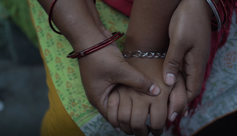 """<div class=""""paragraphs""""><p>""""If I talk a lot, I feel breathless. I also feel pain in my stomach and cannot keep my food down. I then have to lie down and rest,"""" says Chhoti Nirbhaya.</p></div>"""