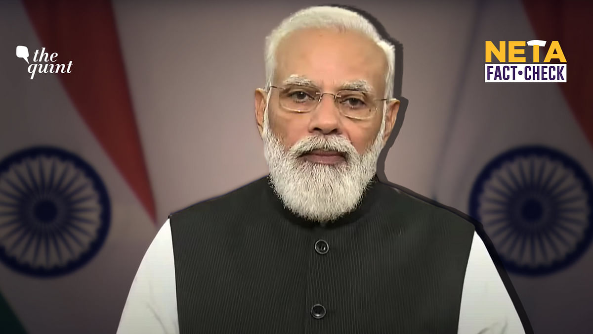 PM Modi, Not All 100 Crore COVID-19 Jabs Were Given for Free
