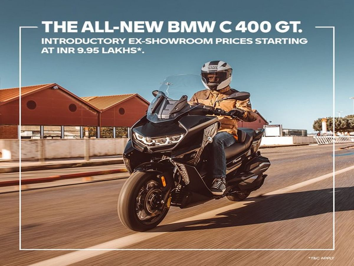 BMW C 400 GT Launched in India: Check Price and Specifications