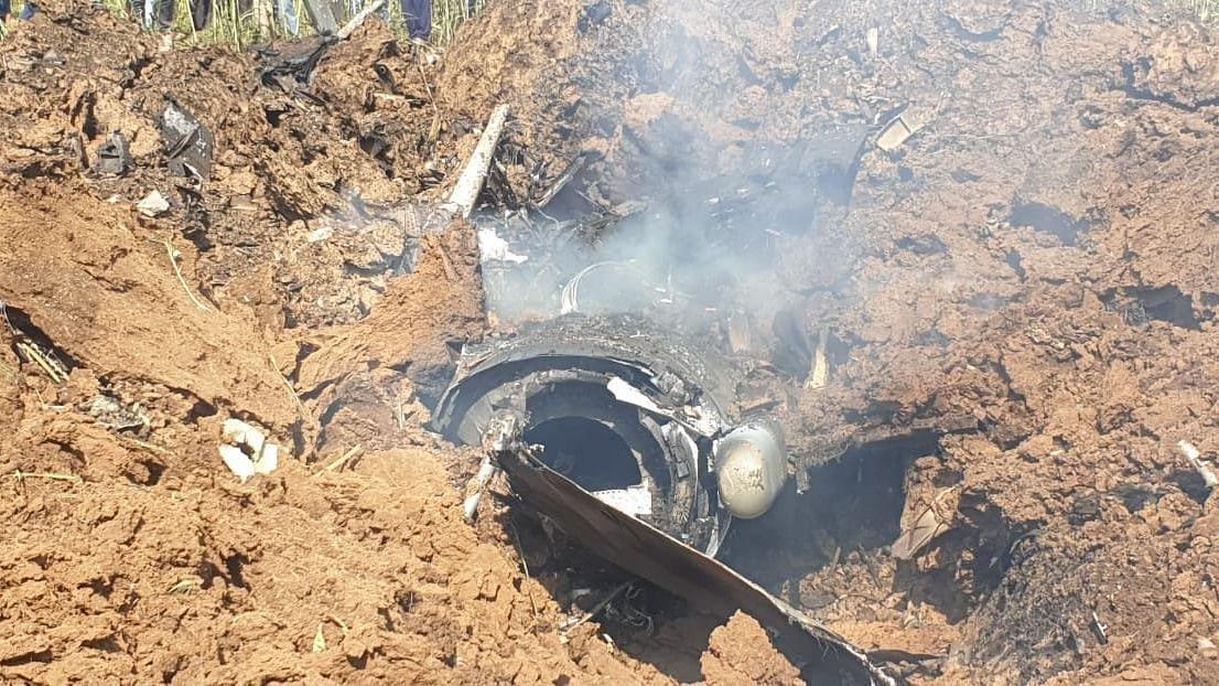 IAF's Mirage 2000 Aircraft Crashes in Madhya Pradesh's Bhind, Pilot Injured