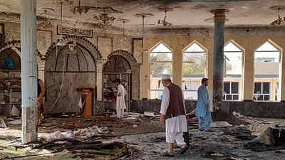 ISIS Claims Explosion at Kunduz Mosque That Left At Least 50 People Dead