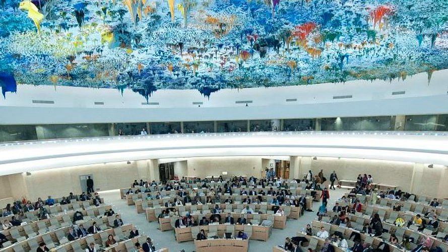 """<div class=""""paragraphs""""><p>File photo of&nbsp;United Nations Human Rights Council.</p></div>"""