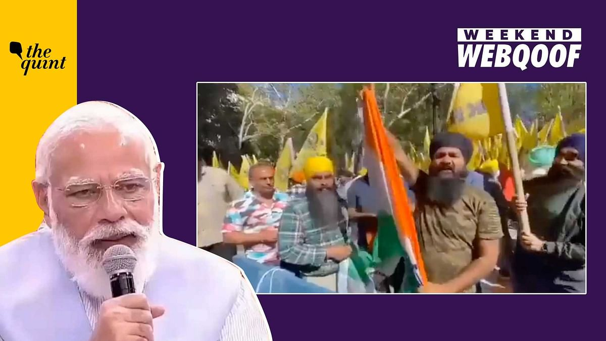 """<div class=""""paragraphs""""><p>From Indian farmers raising pro-Khalistan slogans to a clipped video of Prime Minister Narendra Modi.&nbsp;</p></div>"""