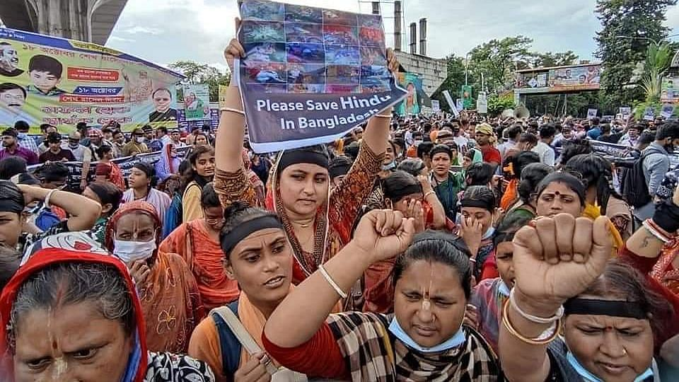 Suspect Confesses Crime, Says FB Post Incited Bangladesh Violence Against Hindus