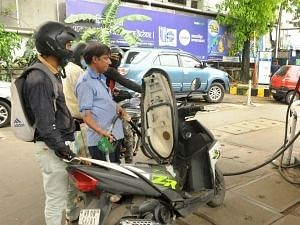 """<div class=""""paragraphs""""><p>No Hike in Petrol and Diesel on Monday, 18 October</p></div>"""