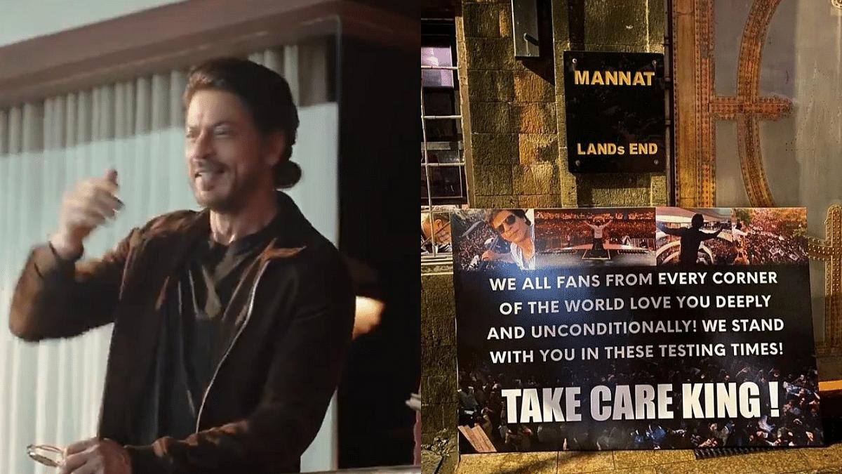 Take Care King: Fans' Messages of Support at SRK's 'Mannat' Post Aryan's Arrest