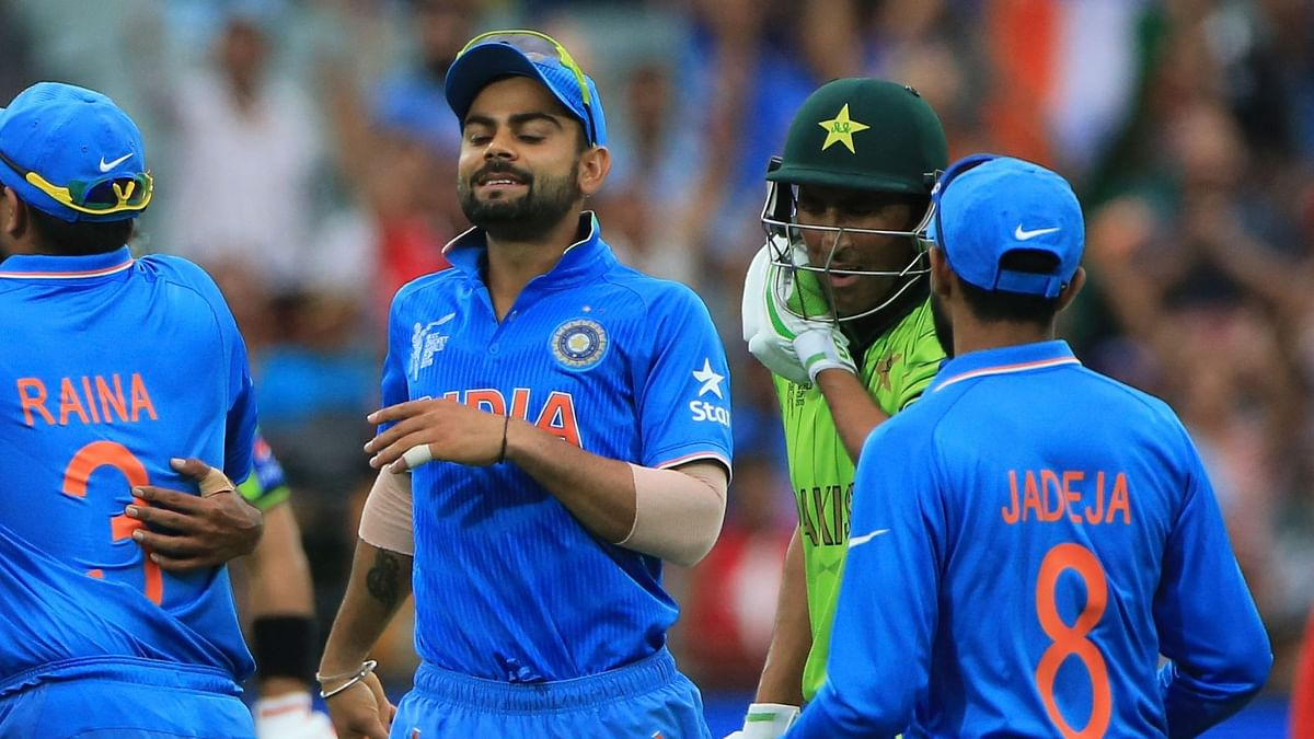 """<div class=""""paragraphs""""><p>India are playing Pakistan in the 2021 T20 World Cup on Sunday.</p></div>"""