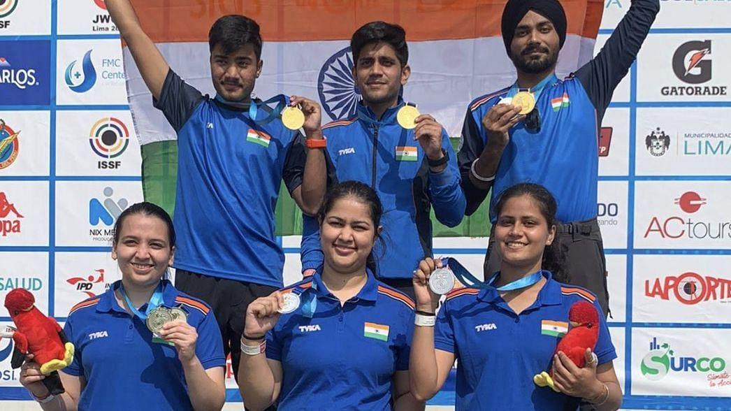 "<div class=""paragraphs""><p>India won 4 Gold medals.&nbsp;</p></div>"