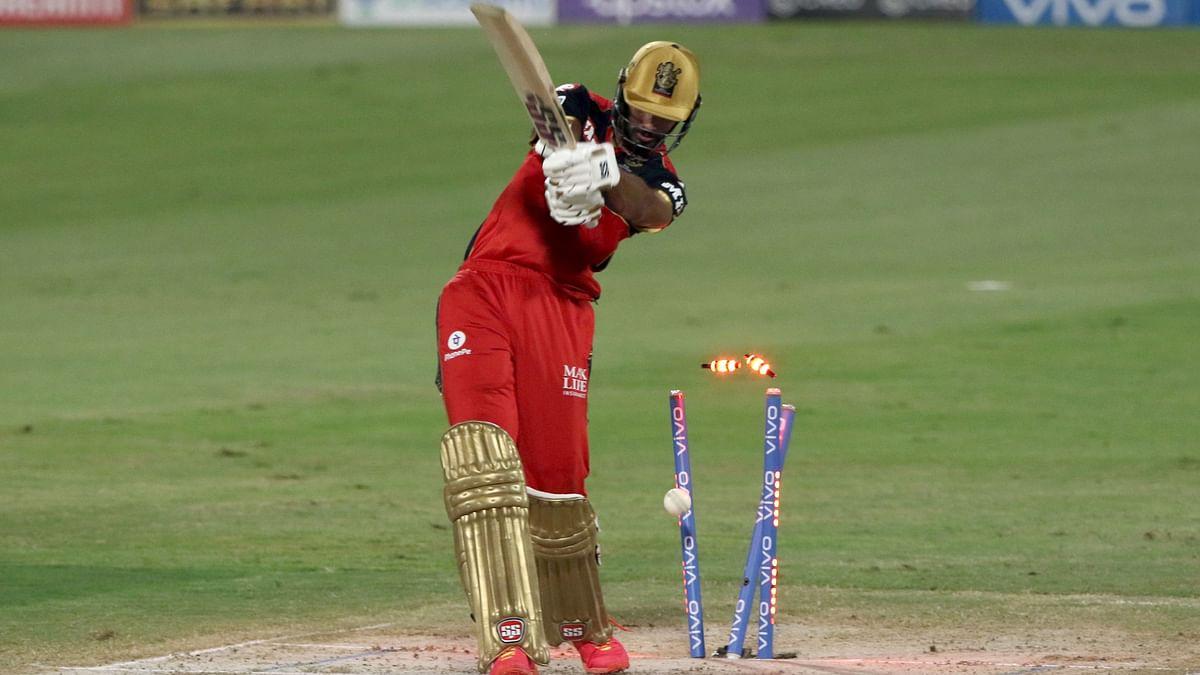 "<div class=""paragraphs""><p>Devdutt Padikkal bowled out during the Eliminator against Kolkata Knight Riders.</p></div>"