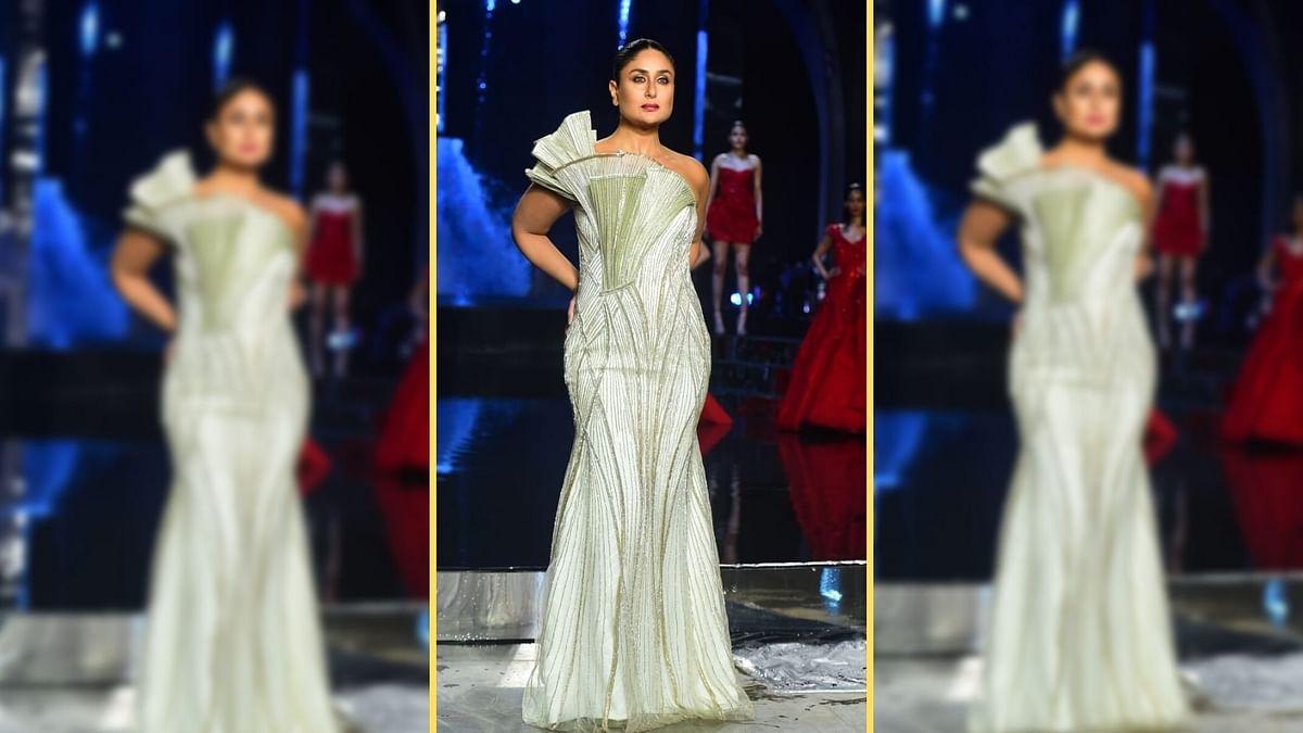 """<div class=""""paragraphs""""><p>Kareena Kapoor Khan at Lakme Fashion Week.</p></div>"""