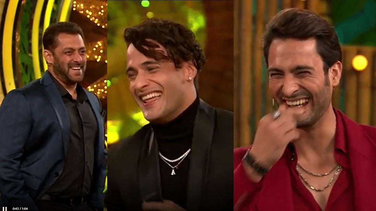 Bigg Boss 15: Salman Khan Jokes Umar Riaz Won't Listen to Brother Asim's Advice