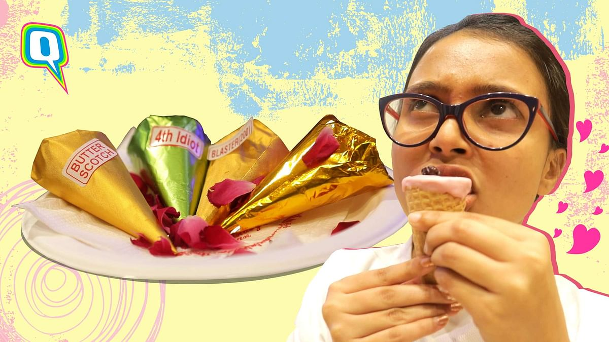 """<div class=""""paragraphs""""><p>Enjoy a crunchy layer of waffle with your paan.</p></div>"""