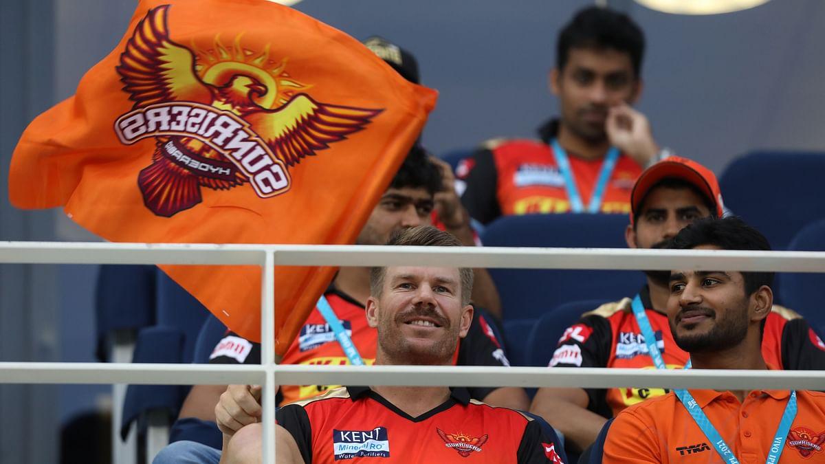 IPL 2021: David Warner Watches SRH-KKR From Stands; Fans Unimpressed