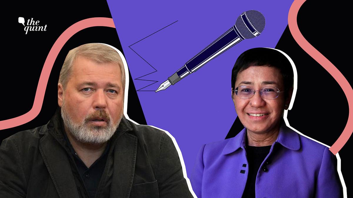 Maria Ressa & Dmitry Muratov's Nobel is a Win for Press Freedom, Even in India