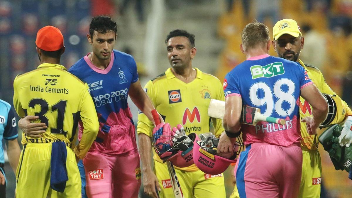 "<div class=""paragraphs""><p>Rajasthan Royals beat Chennai Super Kings.</p></div>"