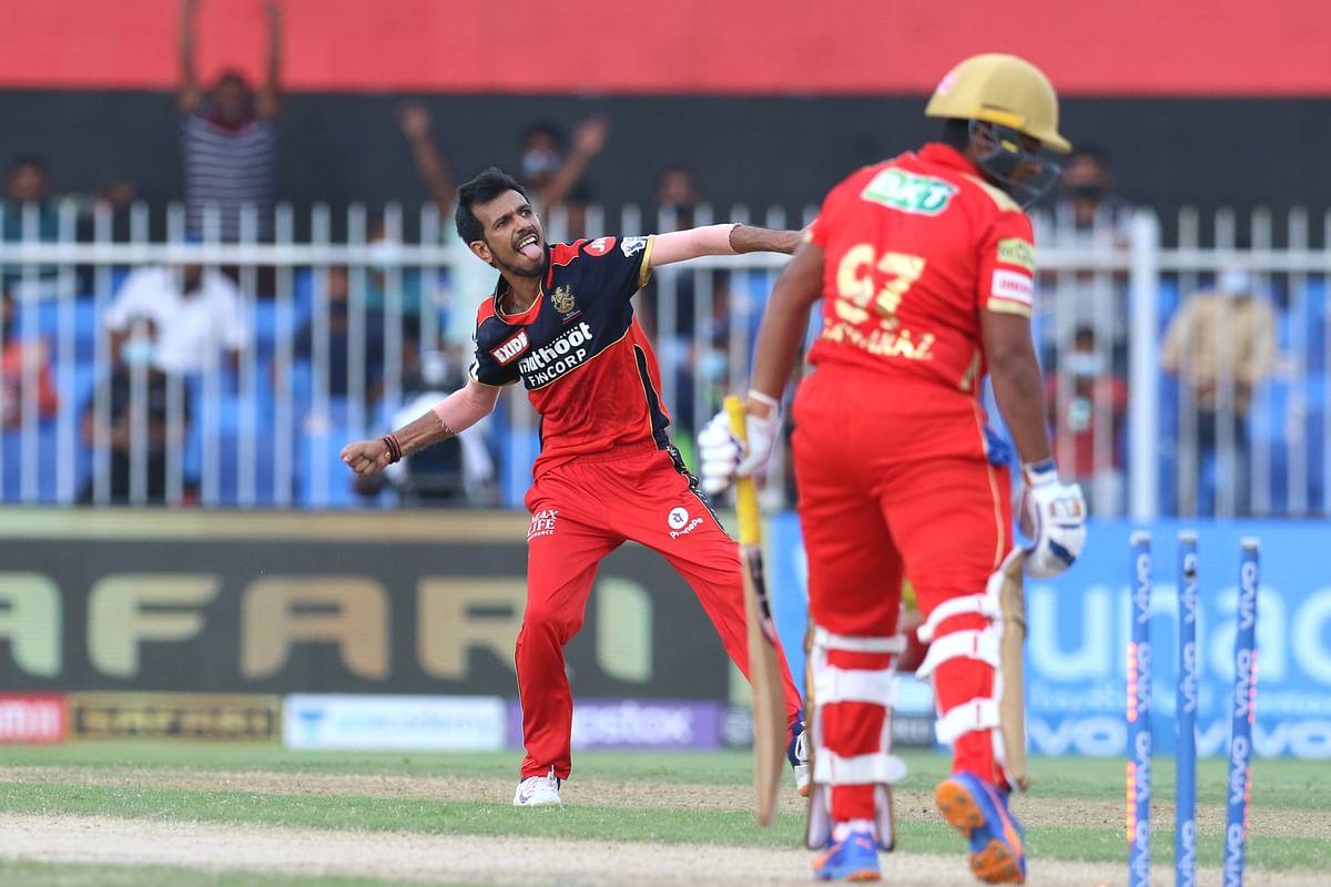 IPL 2021: Maxwell & Chahal Shine as RCB Clinch Playoff Spot