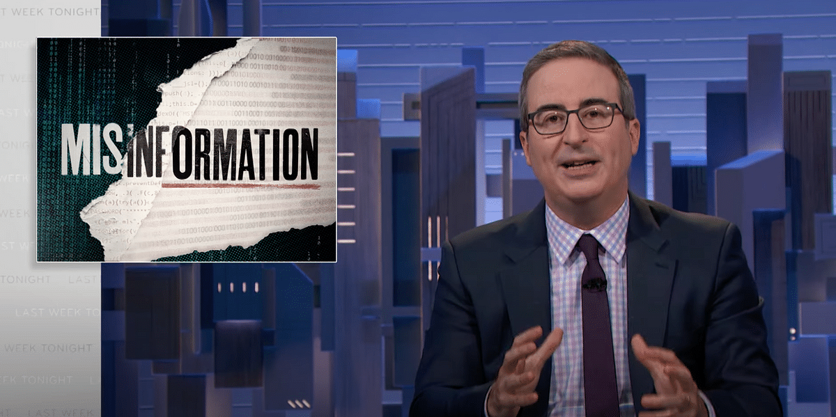 'Misinformation in India Linked to Deaths', Says US Talkshow Host John Oliver
