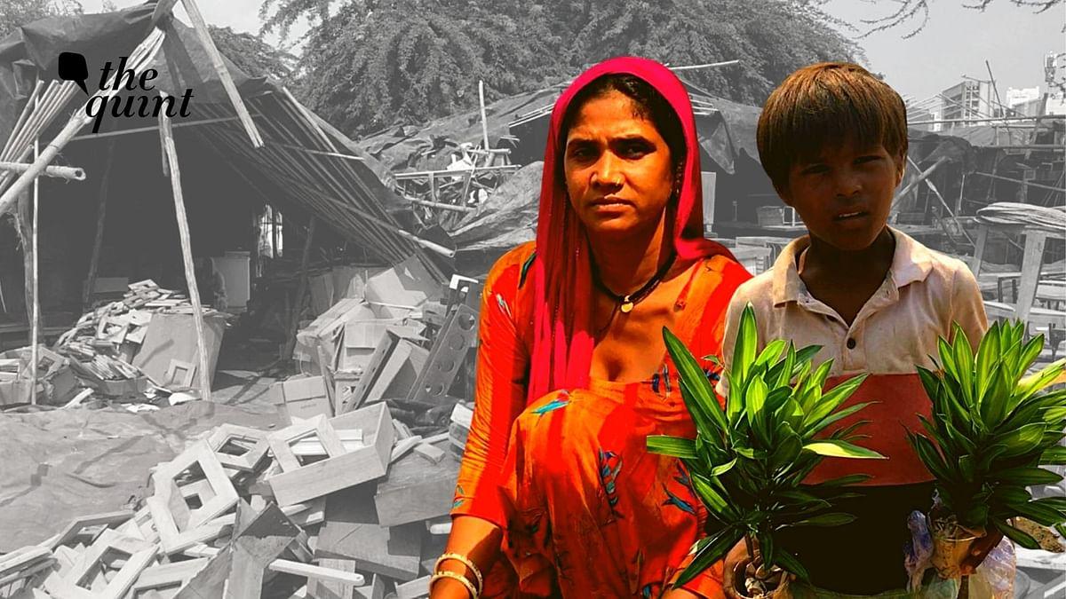 Hopes Lost in Gurgaon's Banjara Market: Those Who Beautified Homes, Now Homeless