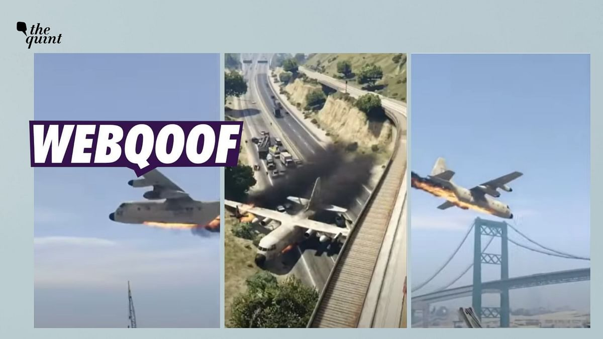 Scenes From Video Game GTA V Shared as Clip of Russian Flight Crash
