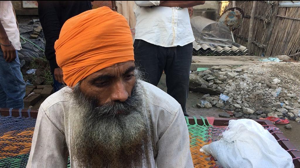 "<div class=""paragraphs""><p>Satnam Singh, father of Lovepreet Singh</p></div>"