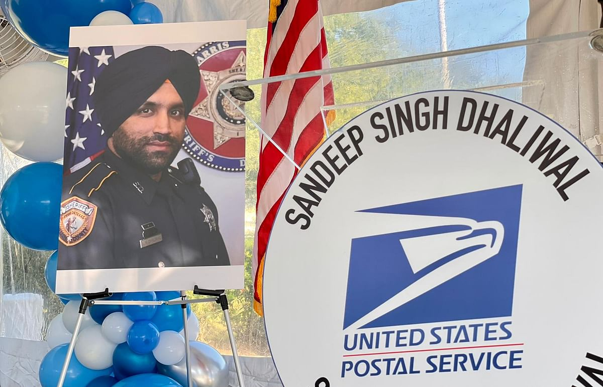 Post Office in Houston Named After Sikh Police Officer Who Died in Line of Duty