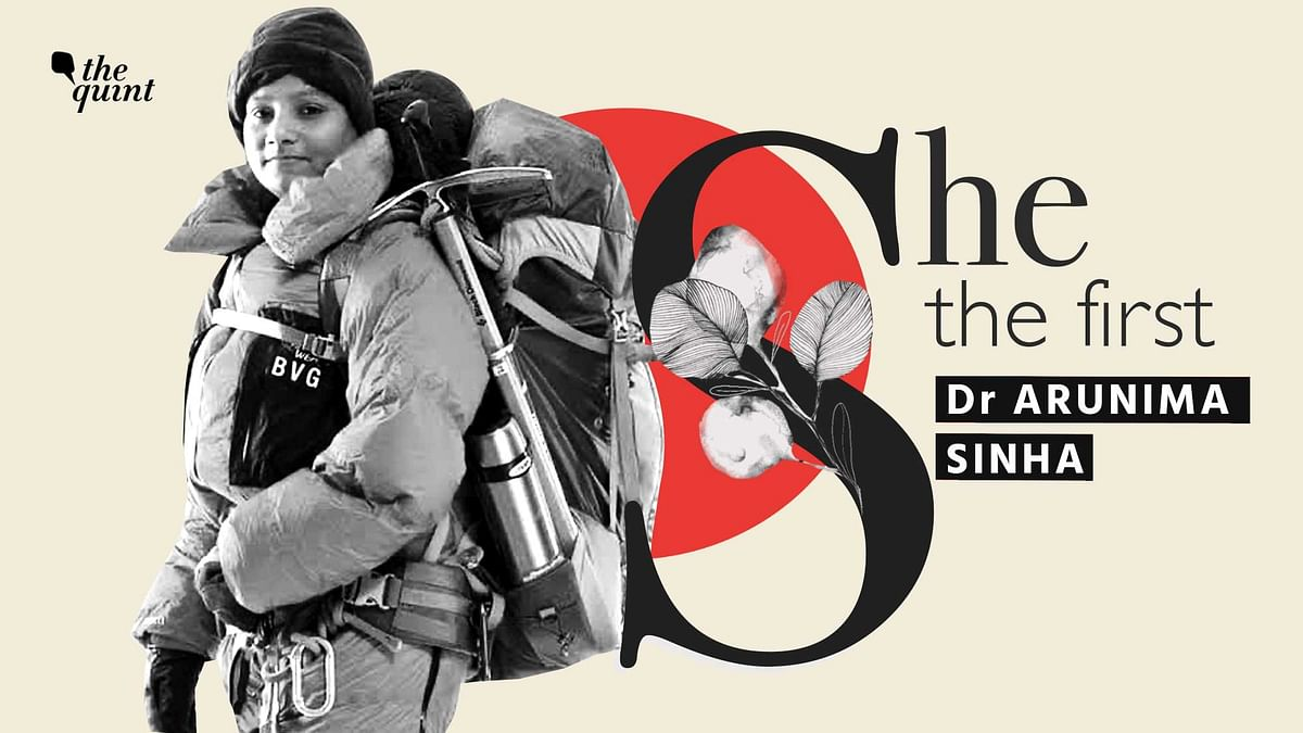 """<div class=""""paragraphs""""><p>Arunima Sinha – the world's first woman amputee to scale Mt Everest.</p></div>"""