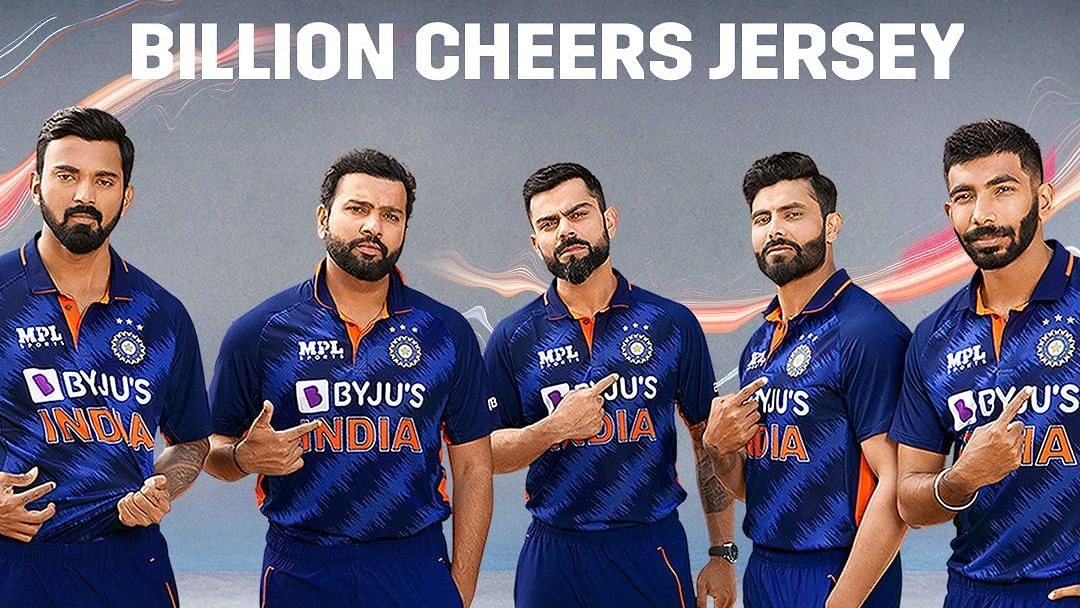 """<div class=""""paragraphs""""><p>BCCI has released the new Indian men's T20I jersey</p></div>"""