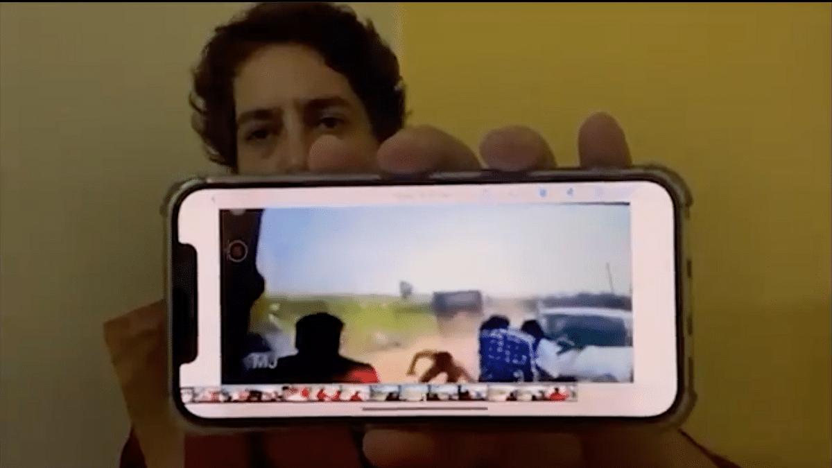 Why Has Culprit Not Been Arrested? Priyanka Gandhi on Viral Lakhimpur Video