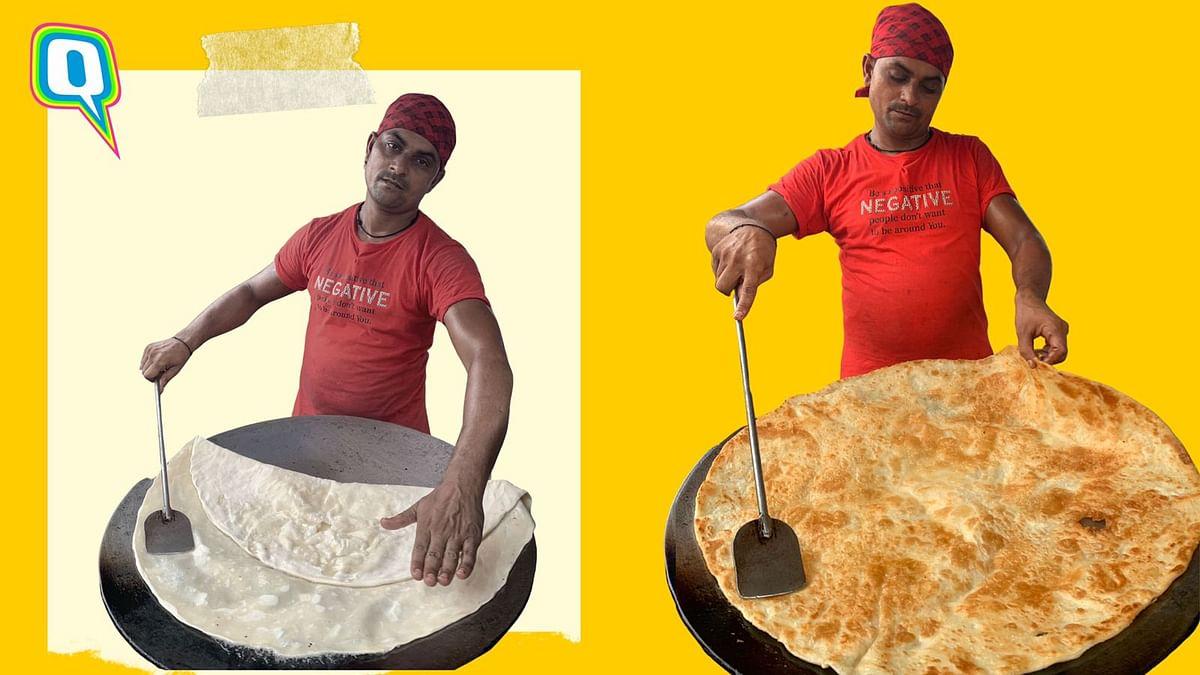 Mahim's Special King Size Halwa Paratha