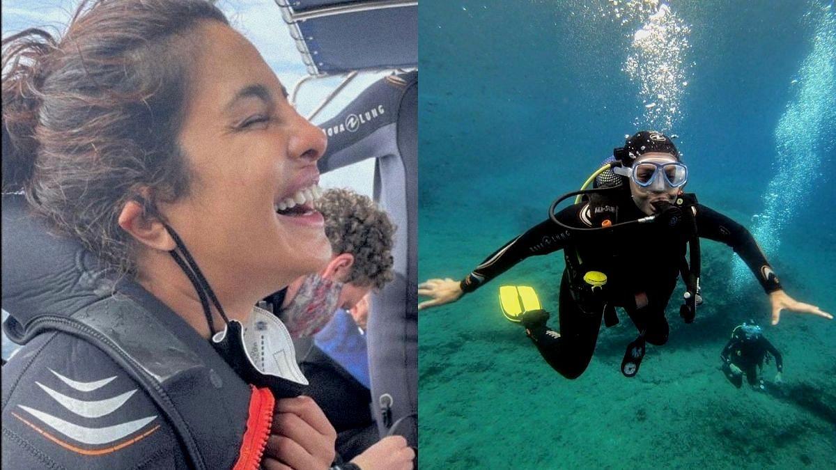 Pics: Priyanka Chopra Goes Scuba-Diving With 'Citadel' Crew