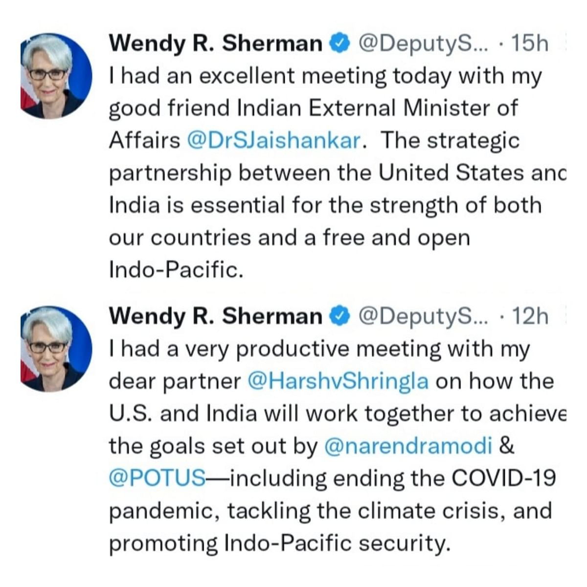 US Deputy Secretary of State Visited India, Here is What Happened
