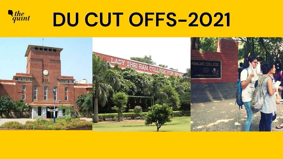 DU First Cut-Off List 2021: SRCC, Ramjas Courses Touch 100%