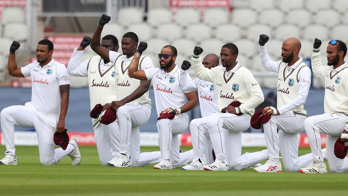 """<div class=""""paragraphs""""><p>West Indies T20 captain Kieron Pollard has said the team will be taking the knee during the T20 World Cup.</p></div>"""