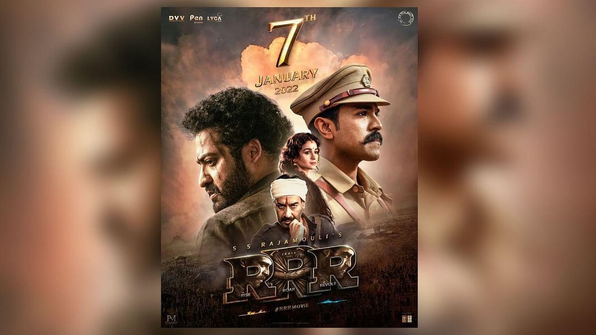 RRR: Ram Charan, Alia Bhatt, Ajay Devgn-Starrer to Release on This Date