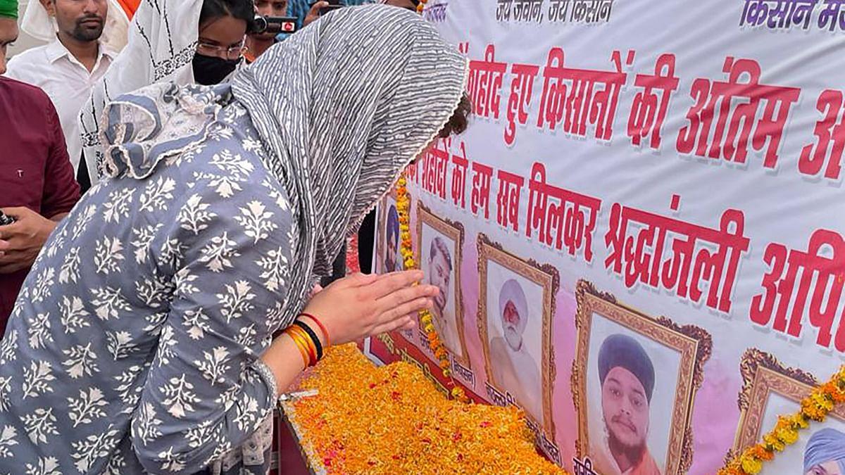 "<div class=""paragraphs""><p>Congress General Secretary Priyanka Gandhi Vadra in Lakhimpur Kheri on Tuesday.</p></div>"