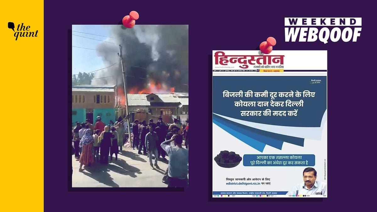 WebQoof Recap: Misinformation Around Delhi Govt Ad, India-China Face-Off
