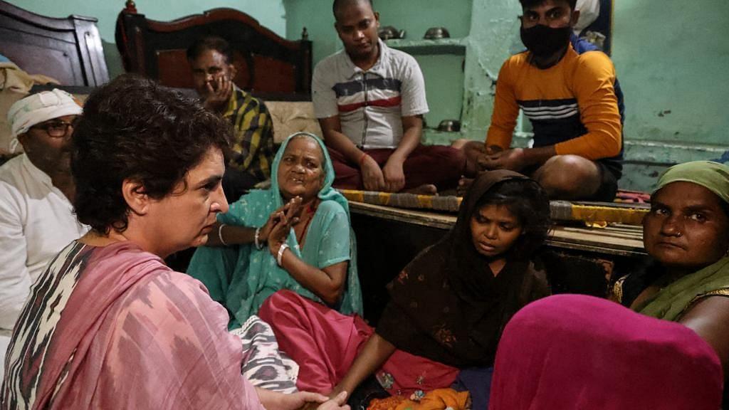 'Why Is Govt Silent?': Priyanka Gandhi Meets Kin of Agra Man Who Died in Custody